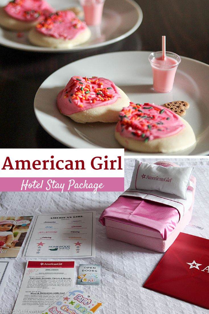 Kids will love this amazing American Girl Hotel Stay Package at Homewood Suites