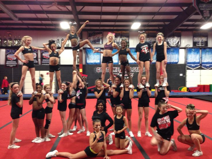 Cheer theme practice. Black Ops night. | Cheer Ideas ...