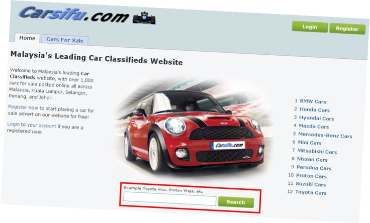 Cars For Sale Websites