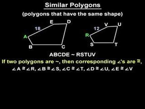 how to solve similar polygons