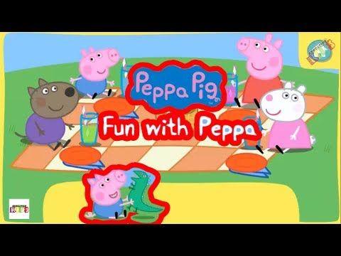 Fun With Peppa Watch Peppa Pig On Nick Jr    Free Kids Games Online  Edu...