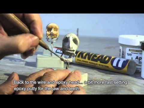 stop motion puppet making video 1080p