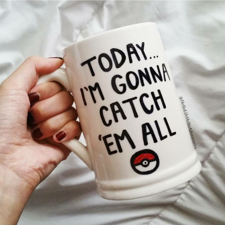 DIY Pokemon GO Mug
