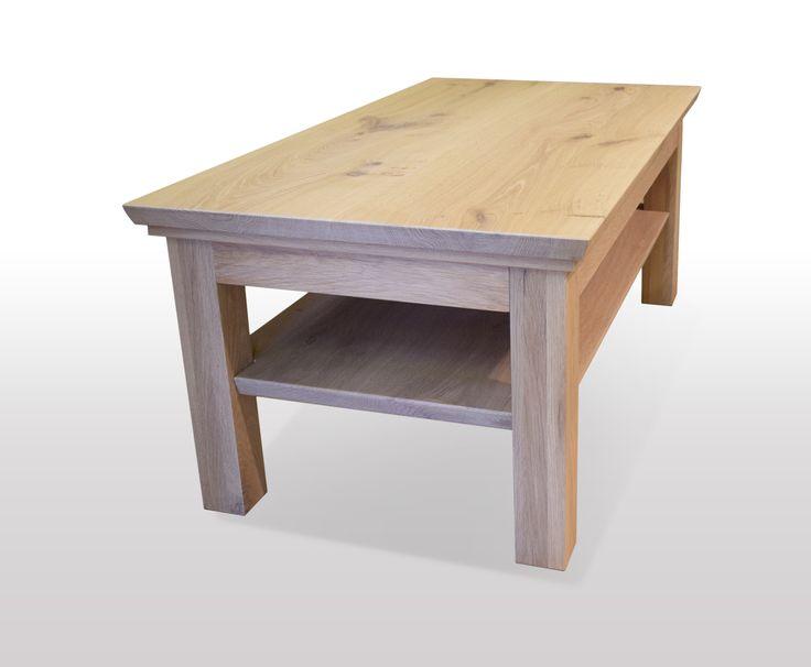 Tisch Eiche massiv Breite 120cm / Länge wählbar
