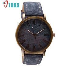 OTOKY Male Clock Vintage Retro Leather Analog Quartz men WristWatch Luxury Cowboy Wrist Watch Relogio Masculino Gift 1pcs(China (Mainland))