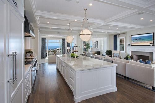 Spinnaker Development, Newport Beach, CA. Christopher Brandon Architects. Kevin E. Smith / Details interior design. Ocean Blvd. kitchen by jkoegel.