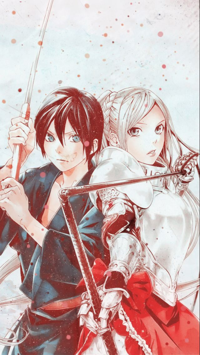 I ship Yato and Hiyori but this is a cool picture