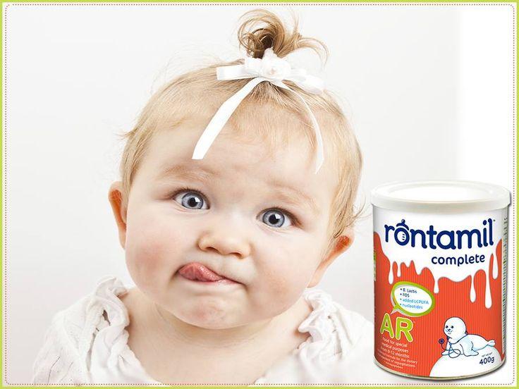 Γιατί μόνο το δικό μου 'rontamil AR' έχει υπέροχη γεύση και παχύρευστη σύνθεση για να συμβάλλει στην αντιμετώπιση των αναγωγών!