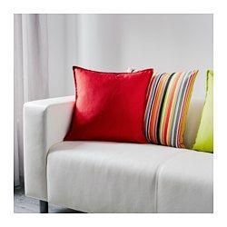 IKEA - GURLI, Kissenbezug, Durch den Reißverschluss lässt sich der Bezug leicht abnehmen.