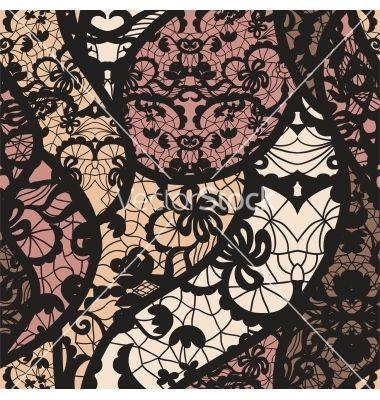 black lace fabric - Google Search