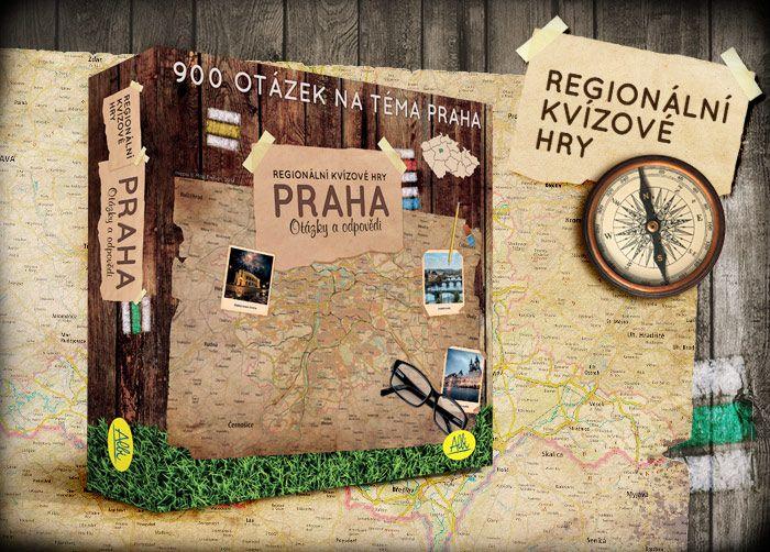 Praha - 900 otázek ze čtyř vědomostních okruhů o hlavním městě