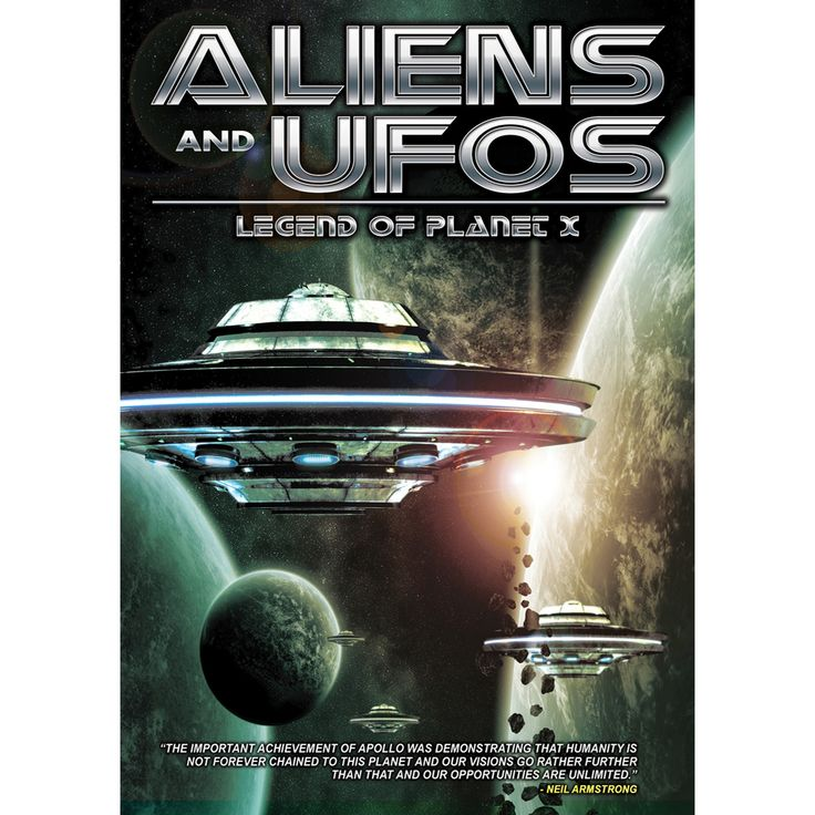 Aliens and ufos:Legend of planet x (Dvd)