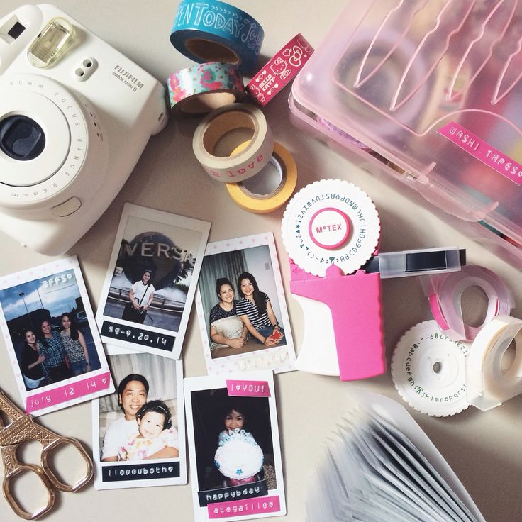 making memories and labeling stuff are more exciting with my motex label maker! ^_^ #makeitblissful #teaminstaxph #instax #motex #washitape #eiffelscissor #muji #homeedited