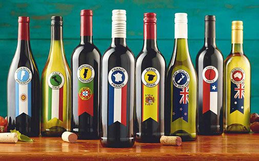 Where shall we travel to tonight? France, Italy, Australia .... Around the world one bottle at a time