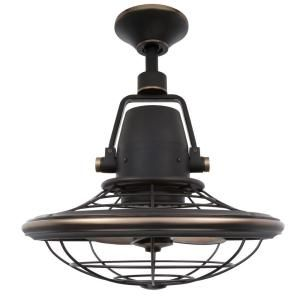 home decorators collection bentley ii in tarnished bronze outdoor oscillating ceiling fan with wall