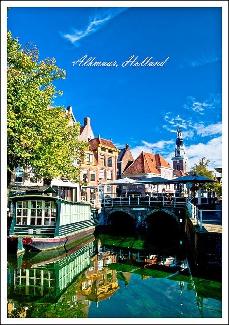 Alkmaar, I was here Queens Day, 2010