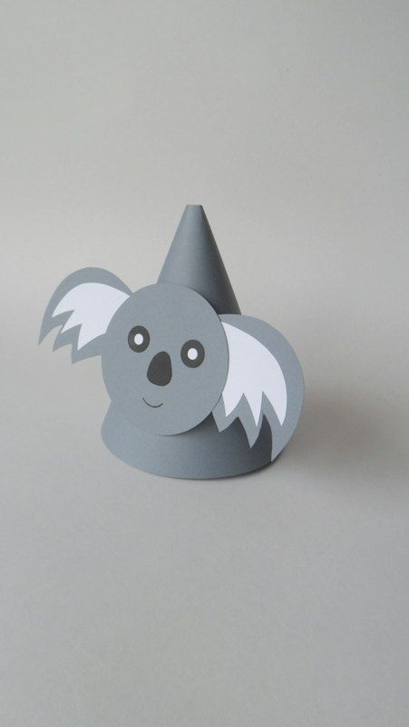 Hey, I found this really awesome Etsy listing at https://www.etsy.com/listing/130566467/koala-theme-party-hats