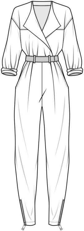 knotted dress tech drawing - Google Search