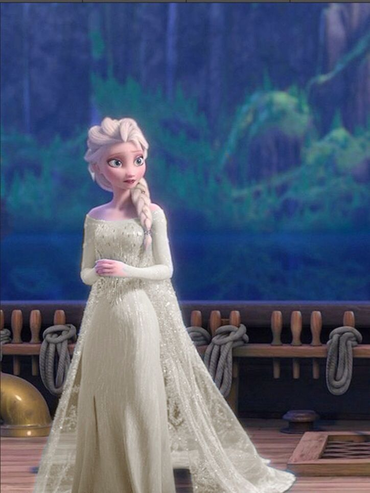 Frozen's Elsa,wearing wedding dress- | Disney Inspired ...