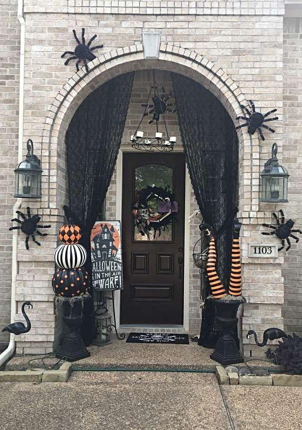 Photo Credit  Karen Dosser   Grandin Road Spooky D cor Challenge 2016762 best halloween images on Pinterest   The munsters  Adams  . Martha Stewart Halloween Costumes Grandin Road. Home Design Ideas