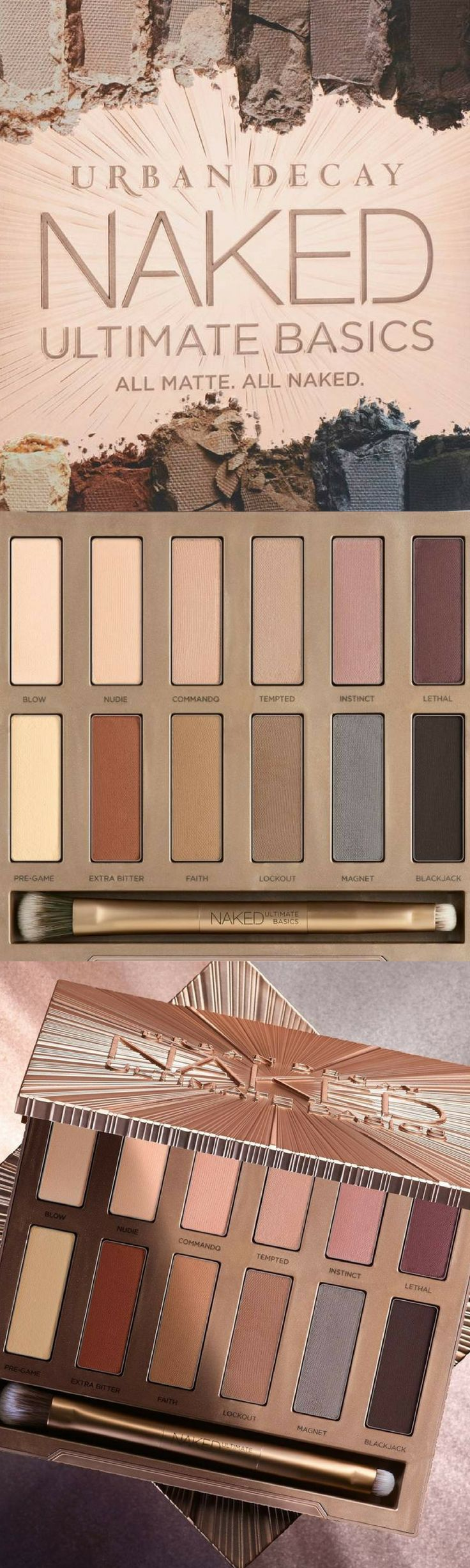 Urban Decay Naked Ultimate Basics Palette at NORDSTROM. Urban Decay introduces Naked Ultimate Basics-the matte eyeshadow palette you've been begging for. NNT #affiliate #makeup #eyeshadow #giftidea #eyeshadowpalette #gift #GiftForHer #GIFTIDEA #christmasgifts #christmasgiftsideas #urbandecay Urban Decay Naked2 Palette | Urban Decay Naked2 | Urban Decay Naked3 Palette Looks | ultimate basics palette looks |  ultimate basics palette |
