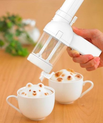 37 Absurd Kitchen Gadgets You Definitely Need In Your Life(pictured here: 3D Latte Art Gun, $47.99.)