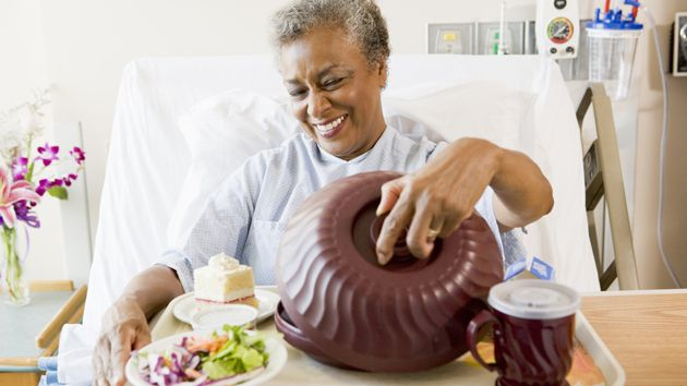 A Cure for Vile Hospital Food? - Apr 4, 2016 -  This institutional menu features items you'd expect from a high-end eatery.