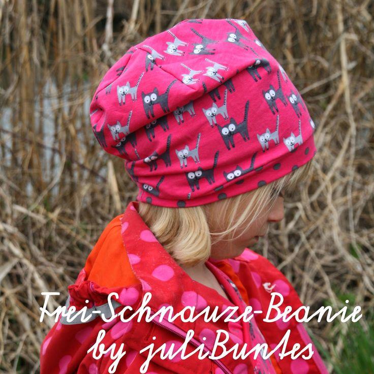 julibuntes: Frei Schnauze Beanie mit DIY-Anleitung!!