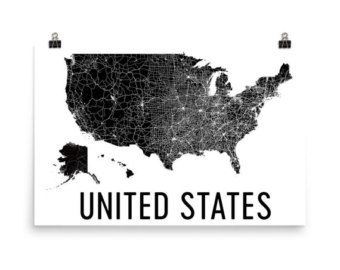 The Best State Map Of Usa Ideas On Pinterest - Black and white united states map