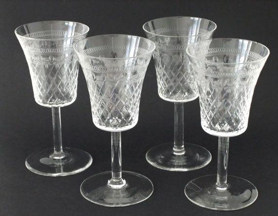 Vintage Pall Mall sherry glasses #vintage