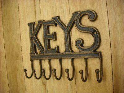 7 Key Hook Hanger