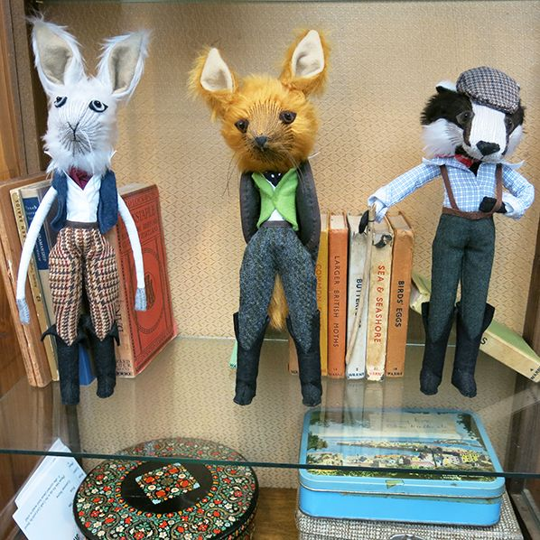 Craftydermy by Emma Cocker | ShopCurious Mag: Lord Hare, Mister Fox & Mister Badger