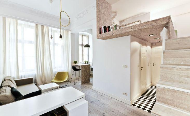 29 sqm małe mieszkanie we Wrocławiu