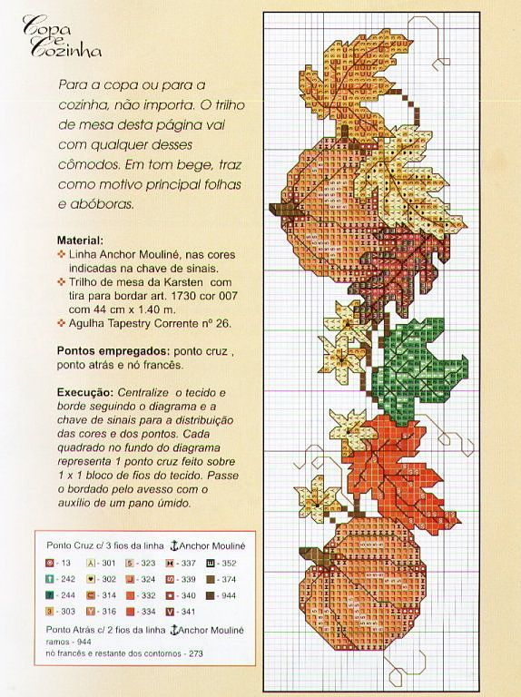 Solo Patrones Punto Cruz | Aprender manualidades es facilisimo.com autumn