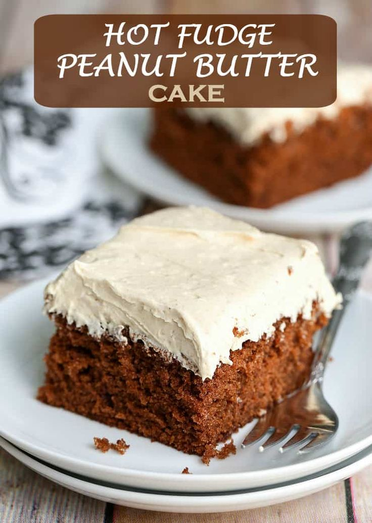 Jun 5, 2020 – This Chocolate Fudge Cake with Peanut Butter Frosting is such a fantastic combination. It's rich, creamy,…