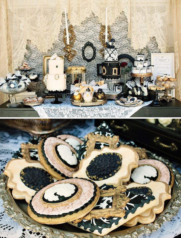 Vintage Victorian Baby Shower {Gender Neutral}