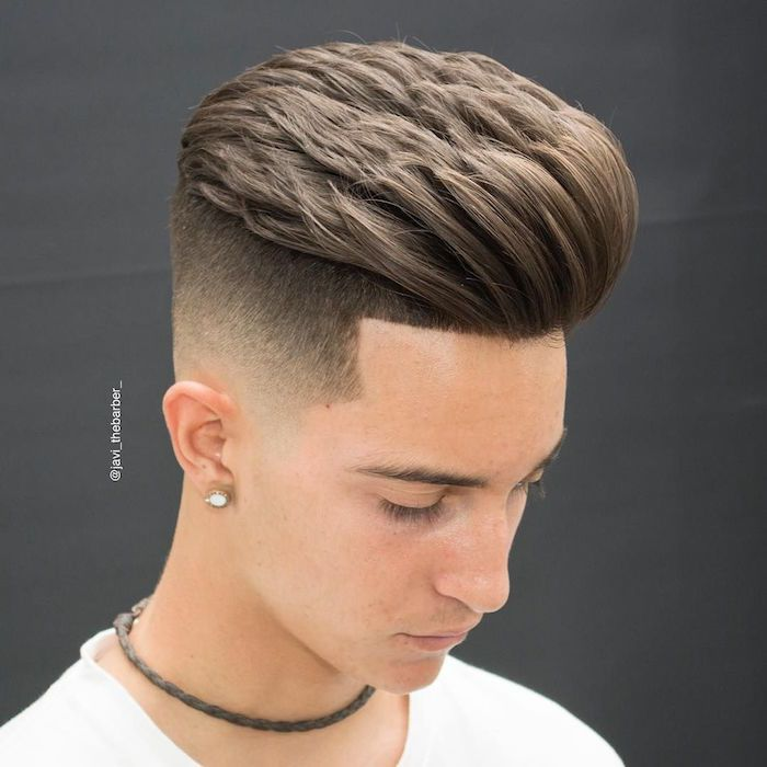 1001 Idees Degrade Progressif L Indemodable Coiffure Homme Styles De Coiffures Cheveux Masculins Coiffure Homme