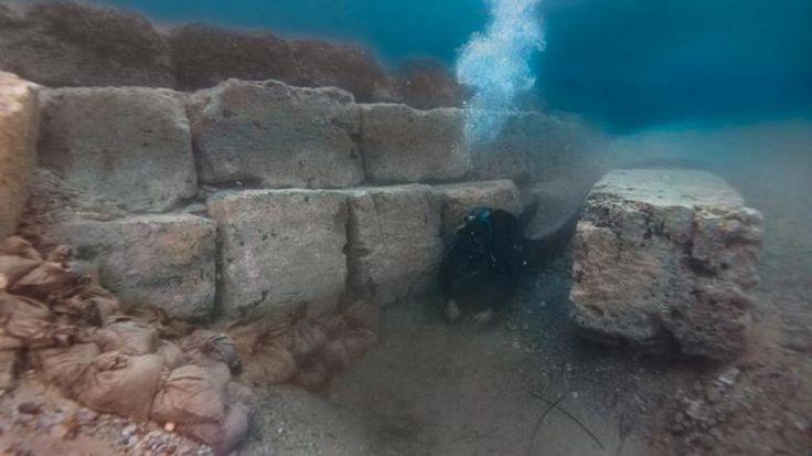 Δημιουργία - Επικοινωνία: Οι εντυπωσιακές υποβρύχιες έρευνες στο αρχαίο λιμά...