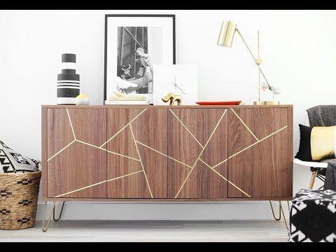 Mid Century Modern IKEA Hack Sideboard — Kristi Murphy | DIY Ideas