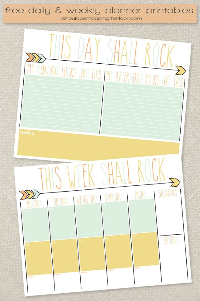 3964 best Planners & Printables images on Pinterest | Planner ideas ...