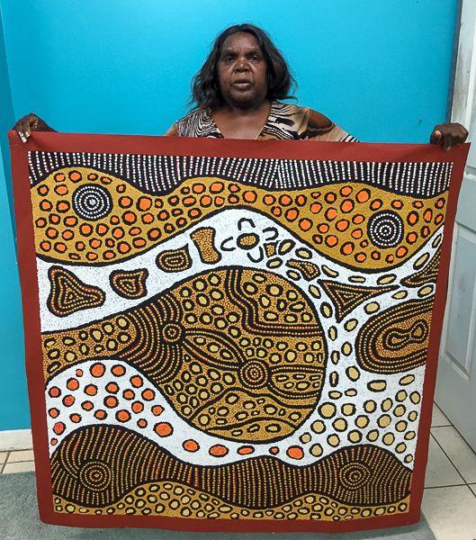Our Studio | Mimi Art Gallery Edith Jackson Nampitjinpa