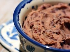 Refried Red Kidney Beans - When pinto/black beans aren't handy...