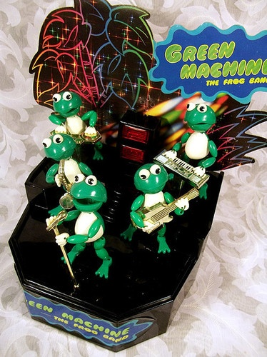 Band Game Toy : Sold green machine the frog band metro toys kid s