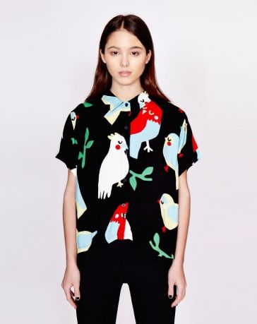Lazy Oaf Bird Shirt