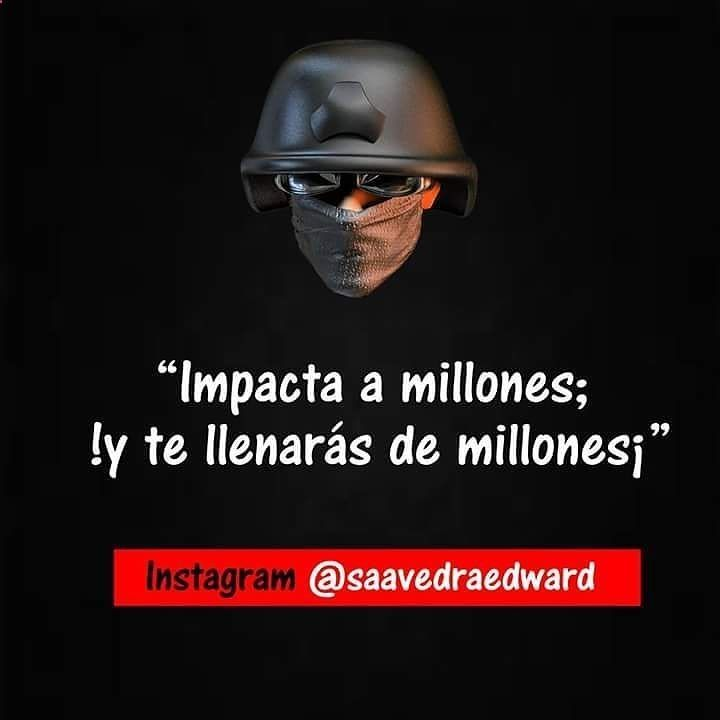 Impacta a millones. Levántate por tus sueños #motivational #boss #entrepreneur #billionaire #mansion #home #millionaire #squad #luxurylife #luxurystyle #entrepreneurship #wealth #success #entrepreneurs #car #luxury #rich #marketing #Love