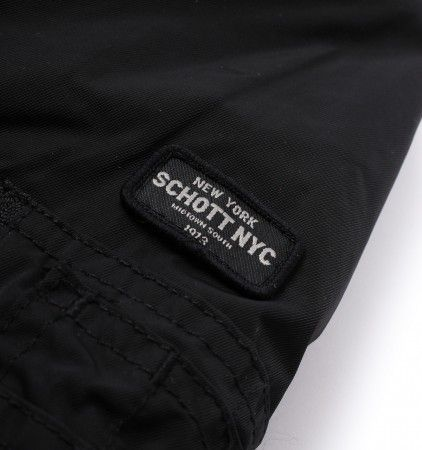 Schott Armstrong Black Bomber Jacket