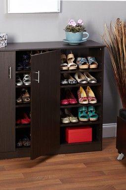 HauteLook | Storage Furniture For Every Room: Espresso Two Doors Shoe Cabinet