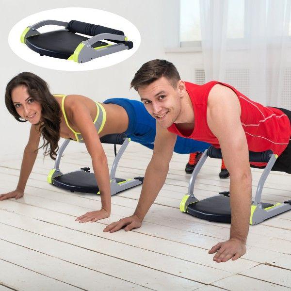 ¿Estás pensando en hacer ejercicio? Con este aparato puedes trabajar varias partes de tu cuerpo para ponerte en forma desde casa. Es fácil de plegar y almacenar. Es un aparato de gimnasia multifunciones adaptable a 8 posturas. Podrás entrenar tu musculación, abdominales, piernas,brazos y glúteos. Medidas: 52x55x38cm. Puedes comprarlo online en https://www.aosom.es/deportes/homcom-aparato-de-abdominales-acero-gris-52x55x38cm.html con envíos gratis a España y Portugal en 24h/48h.