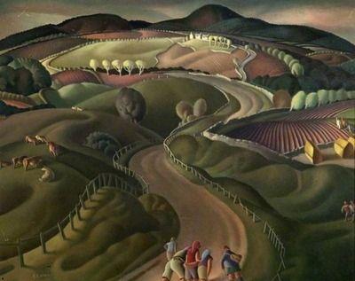 The Road to the Hills  Harry Epworth Allen