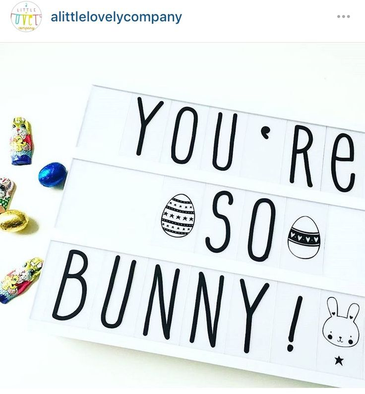 You're so bunny!